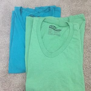 Men's V neck shirts